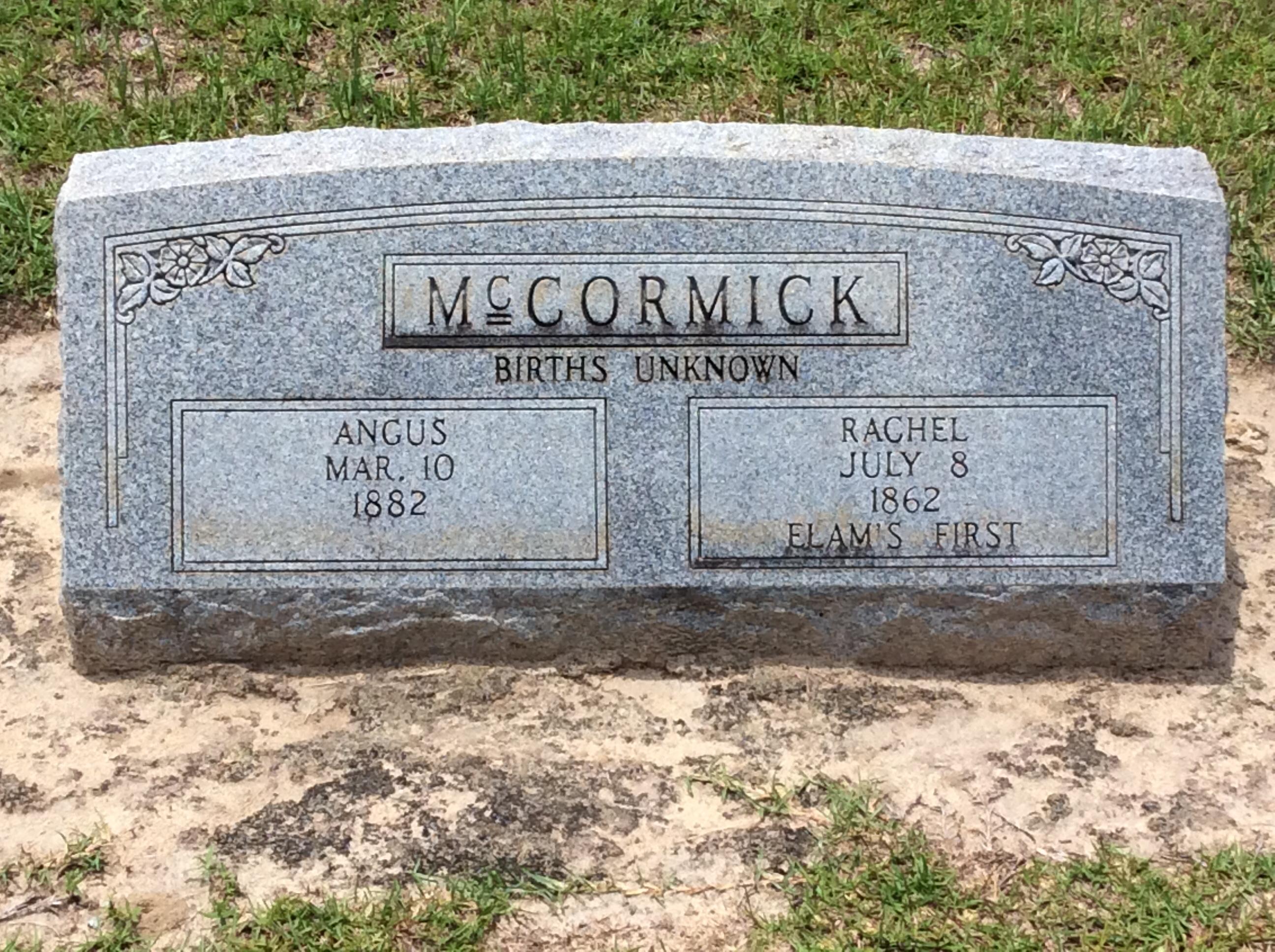 Angus Mccormick