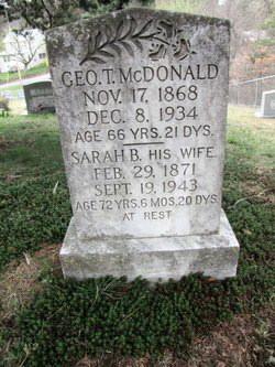 George Edward McDonald