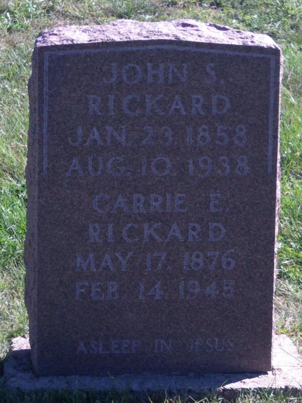 Palmer Rickard