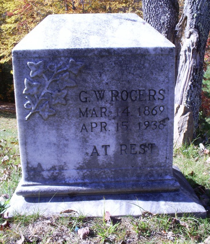 George Washington Rogers