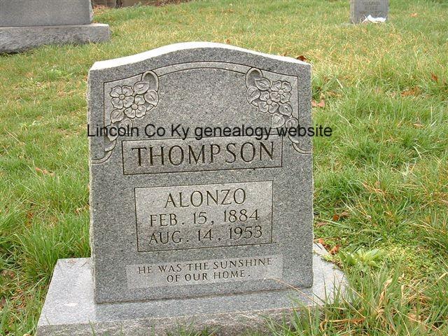 Alonzo C Thompson