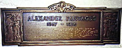 Alexander Pantages