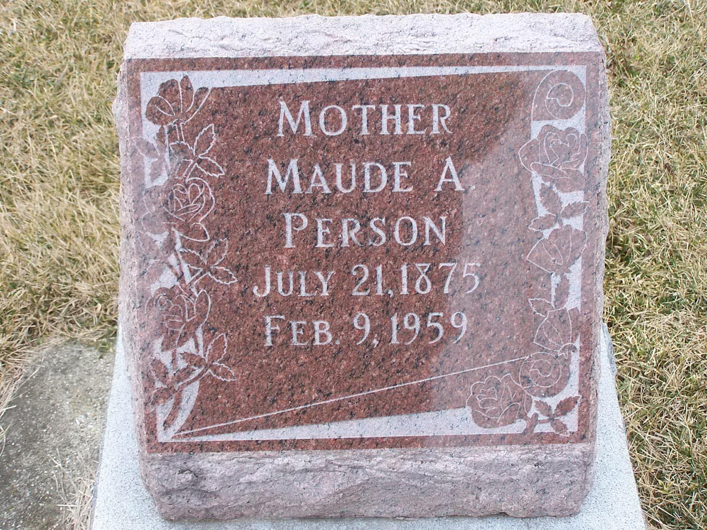 Maude Peavey