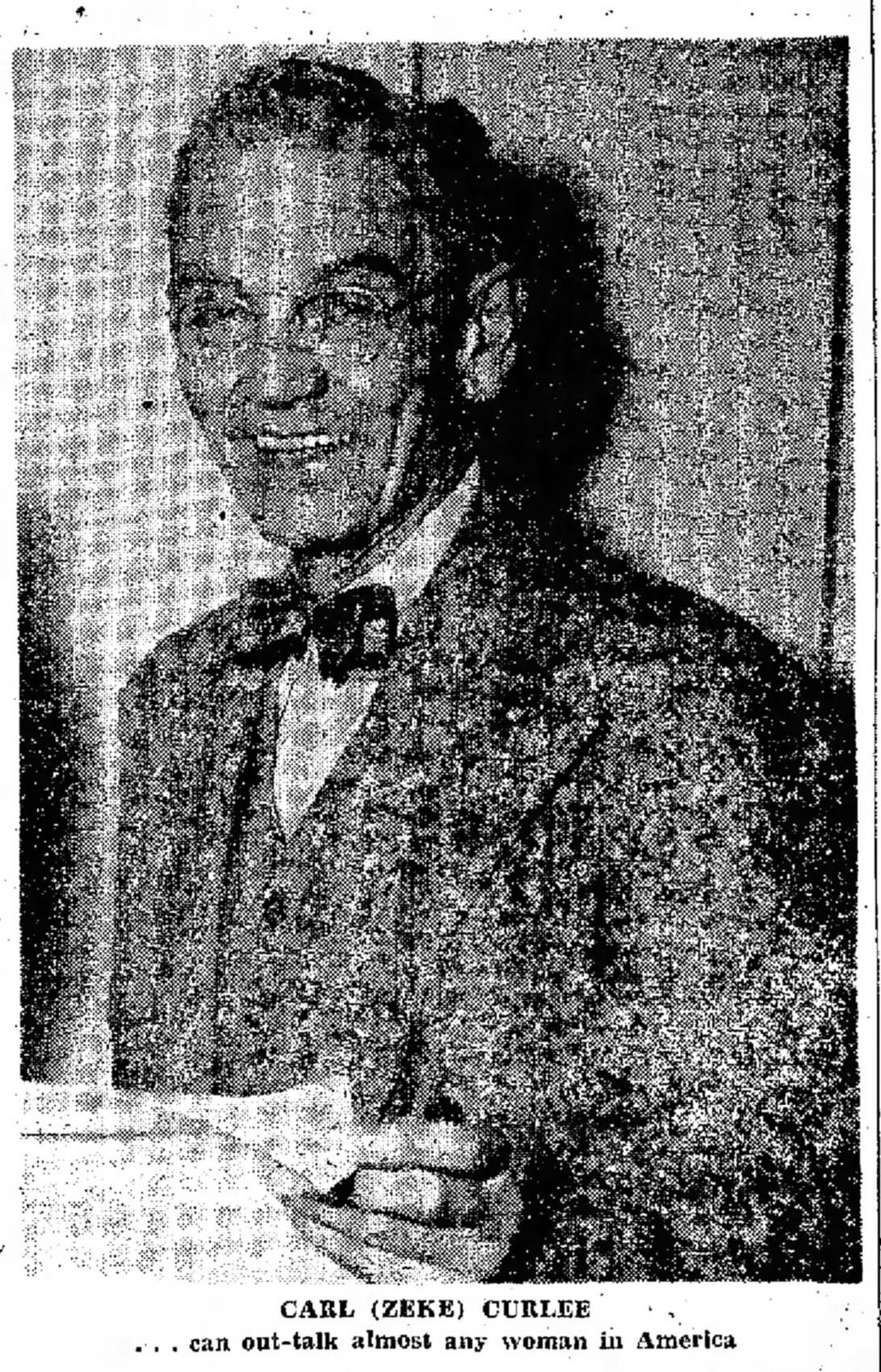 Carl Benjiman 'Zeke' Curlee