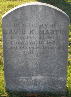 David Kenneth Martin