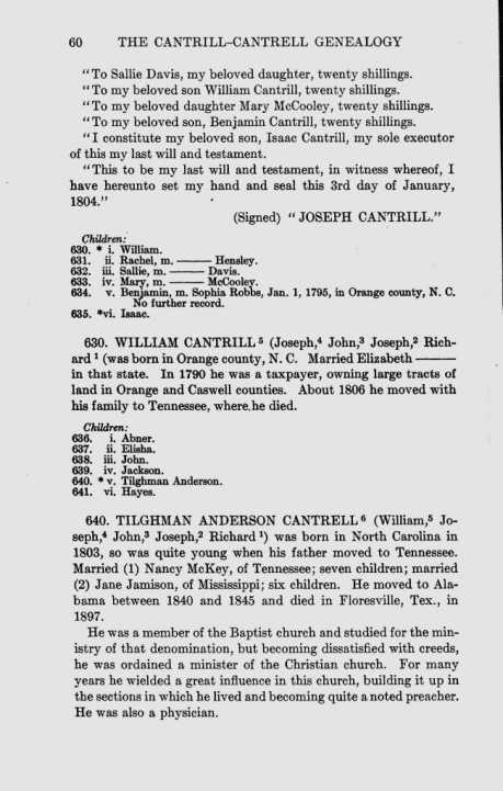 William Cantrell