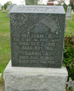William H Thrift