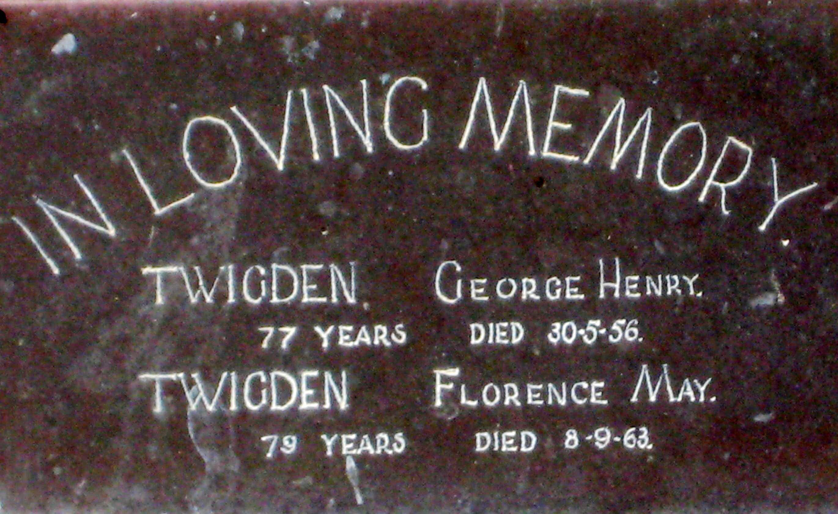George Henry Twigden
