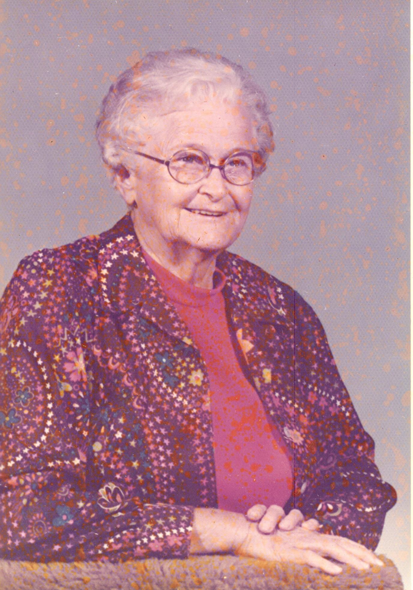 Gladys Olive Lhaman