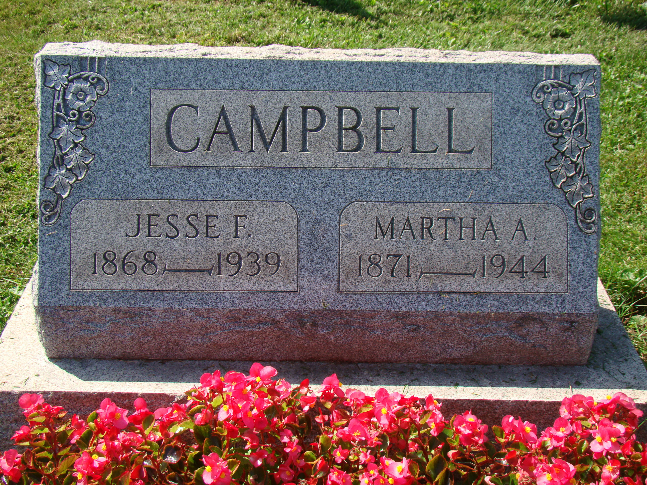Jesse T Campbell