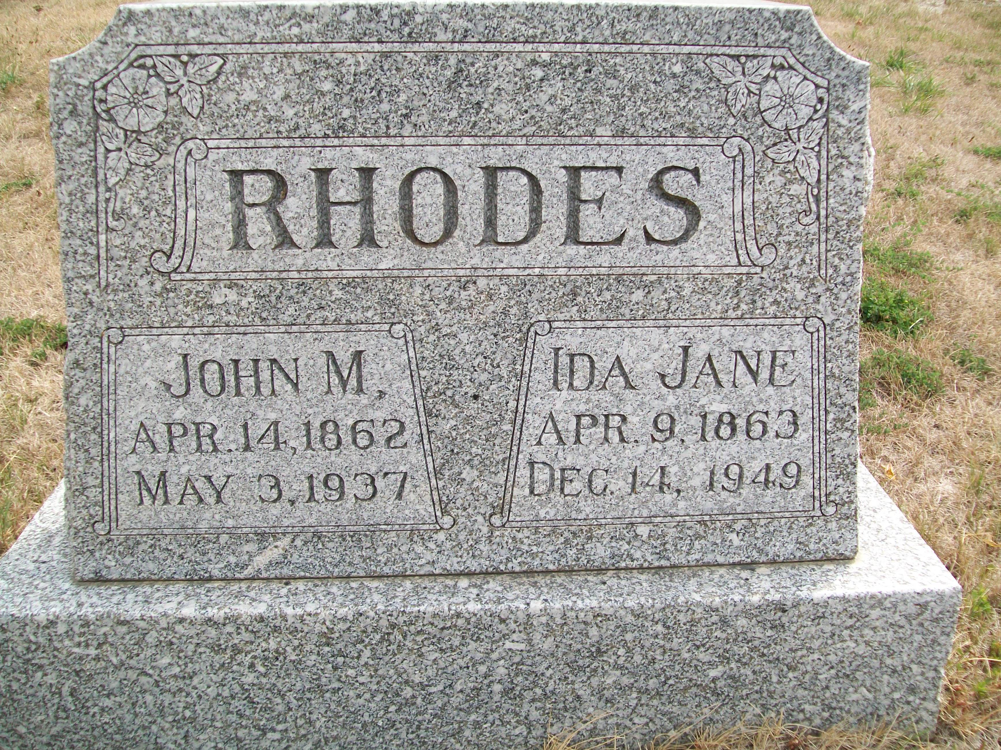 John Michael Rhodes