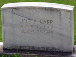 Billy Joe Carr