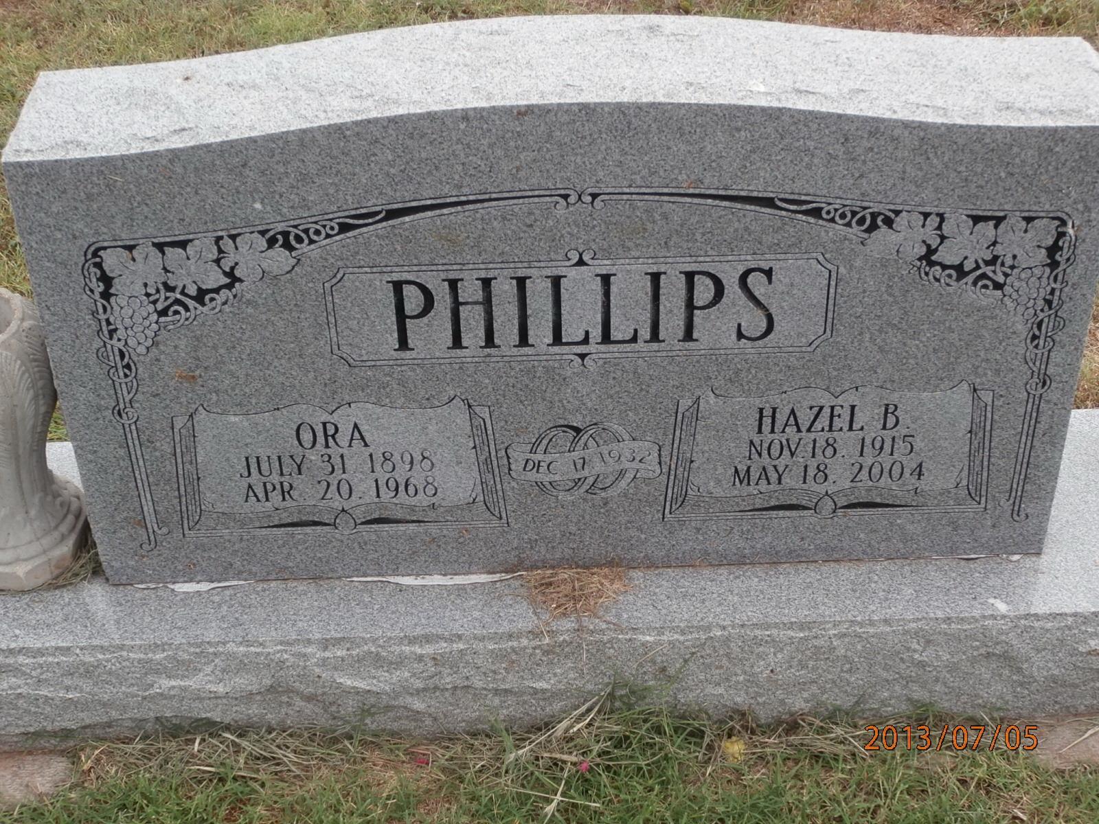 Ora Phillips