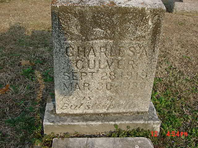 Charles Elmer Culver
