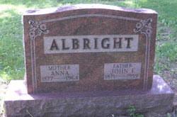 John F Albright