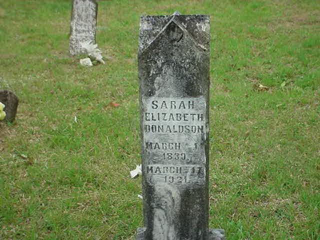 Sarah Elizabeth Donaldson