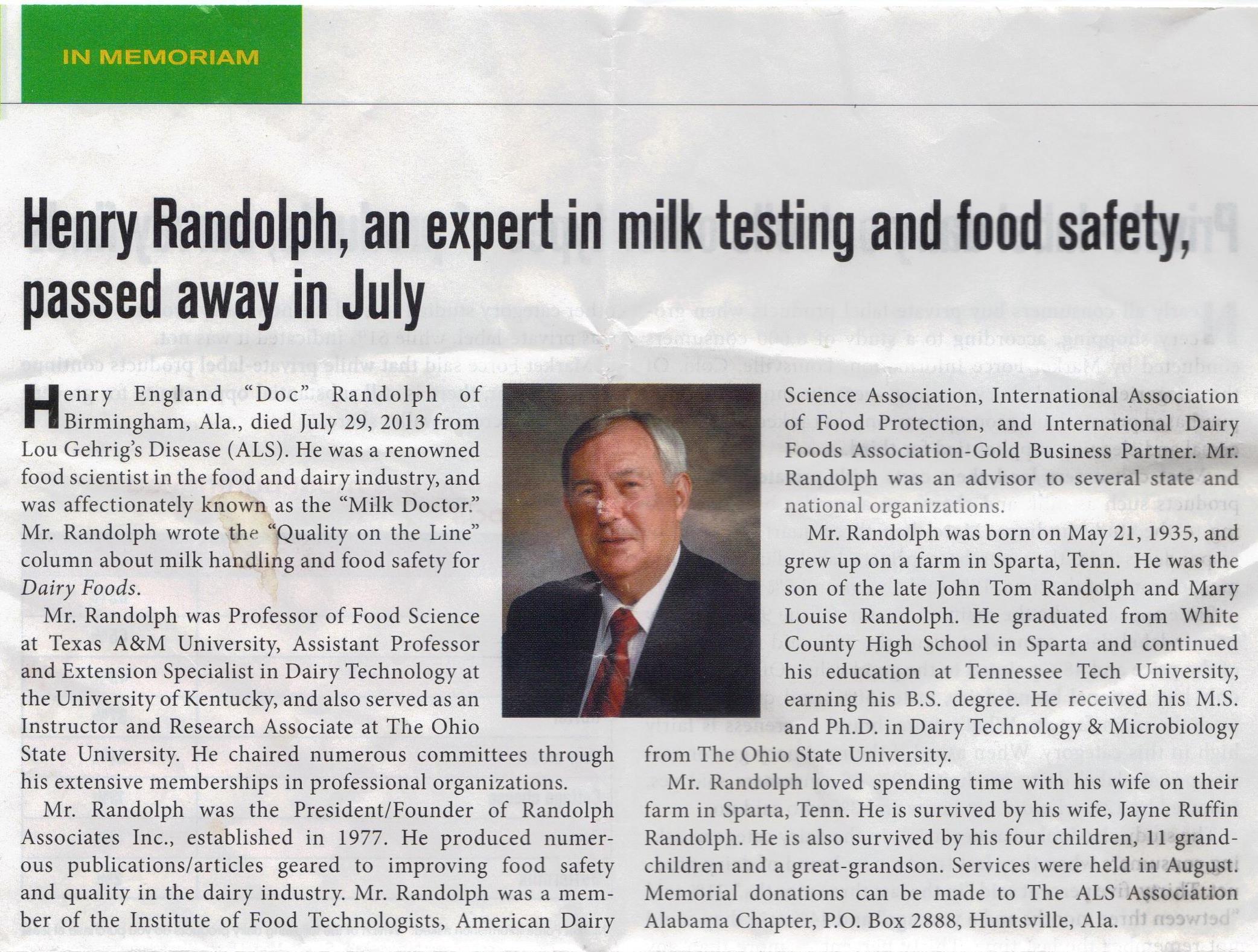 Doc Randolph
