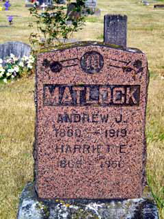 Andrew Jackson Matlock