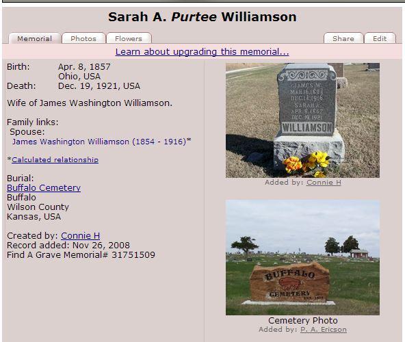 Sarah C Partee