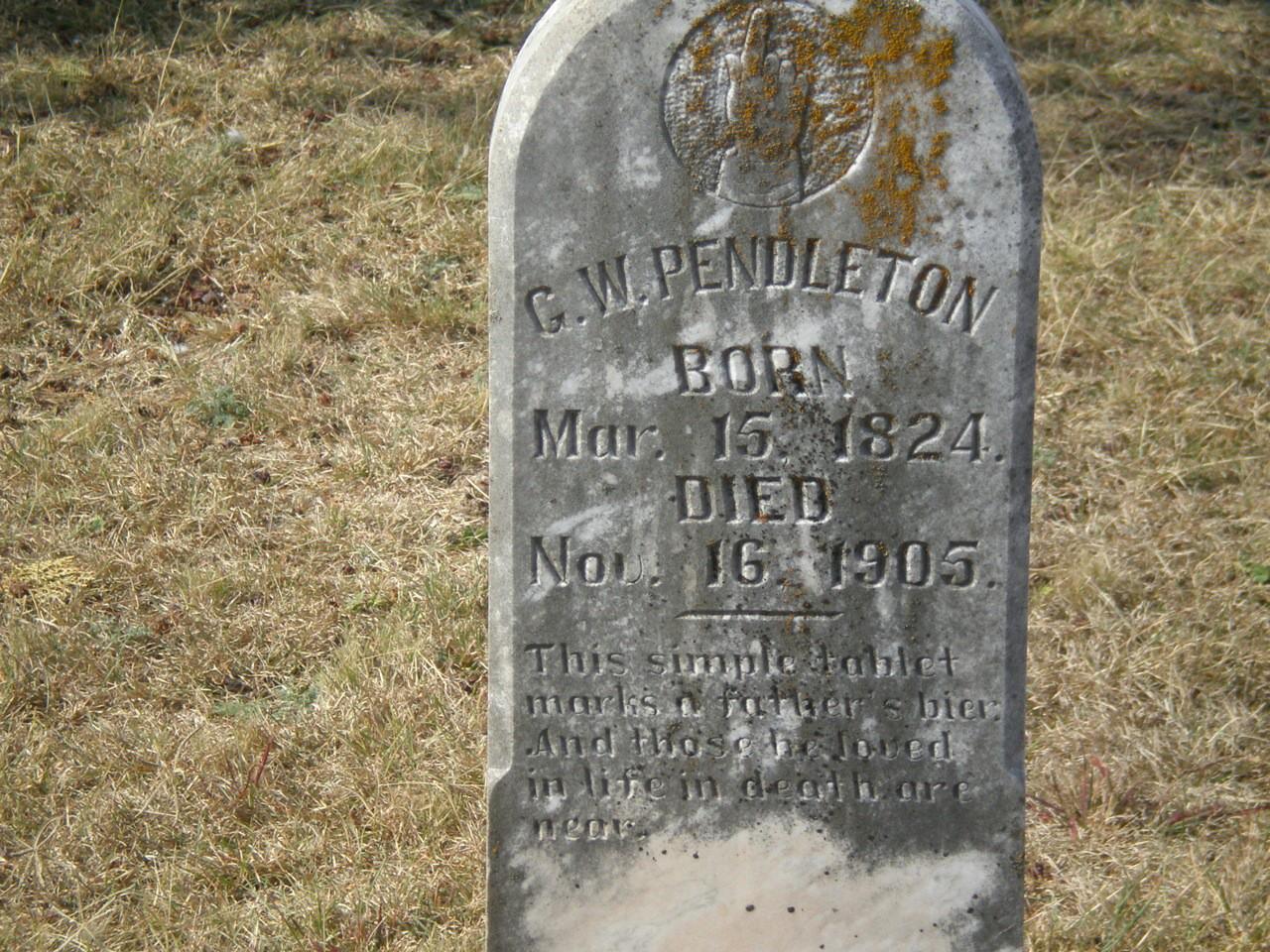 George W Pendleton