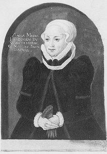 Maria Anna Von Gerichten