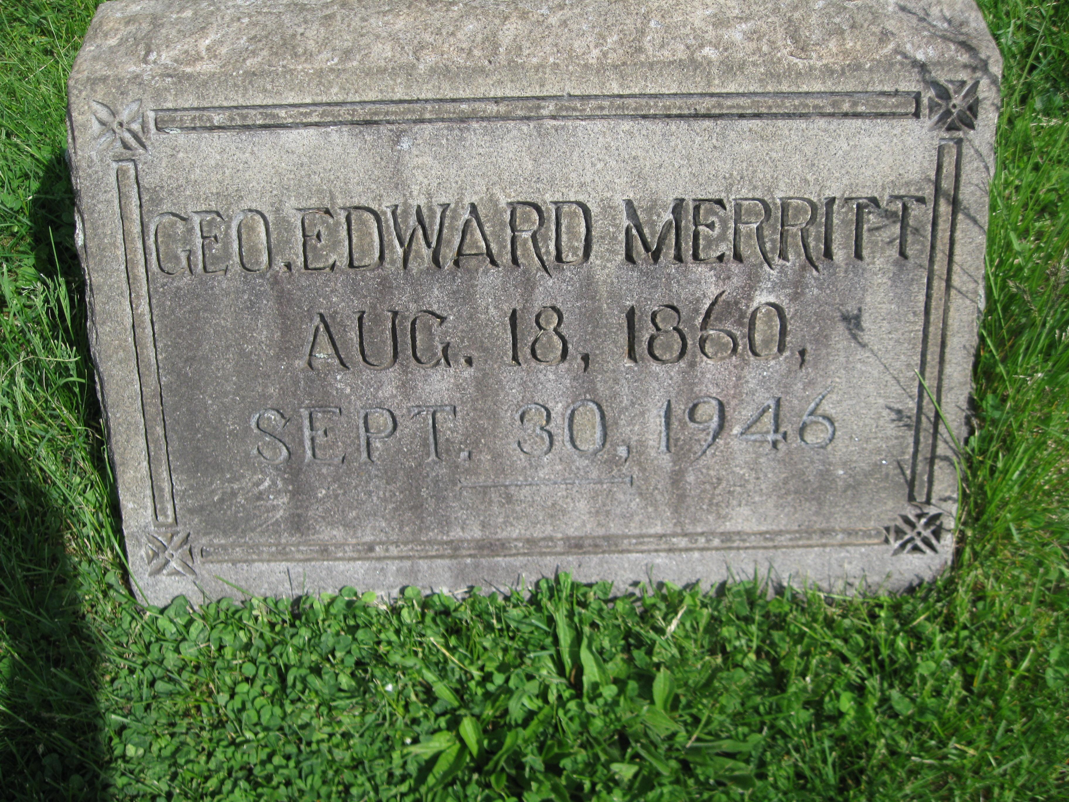 Edward R Merritt