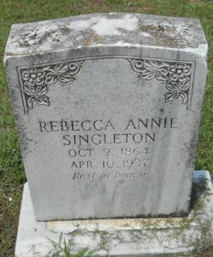Annie Rebecca