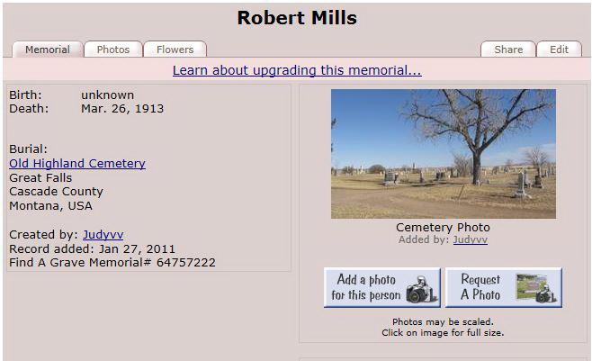 Robert James Mills