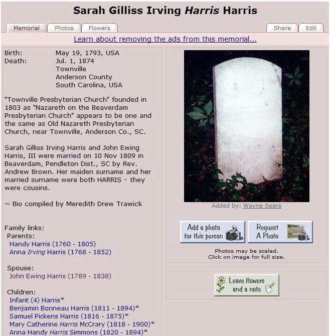 Irving E Harris