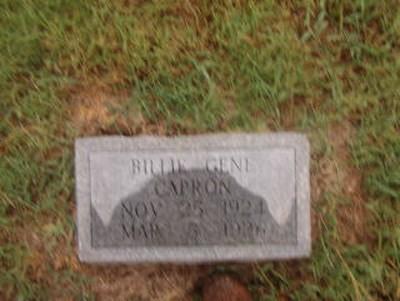 Billie Gene Capron