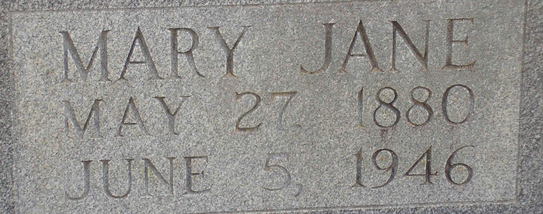 Mary Jane Caraway