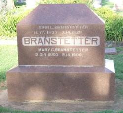 John W Branstetter