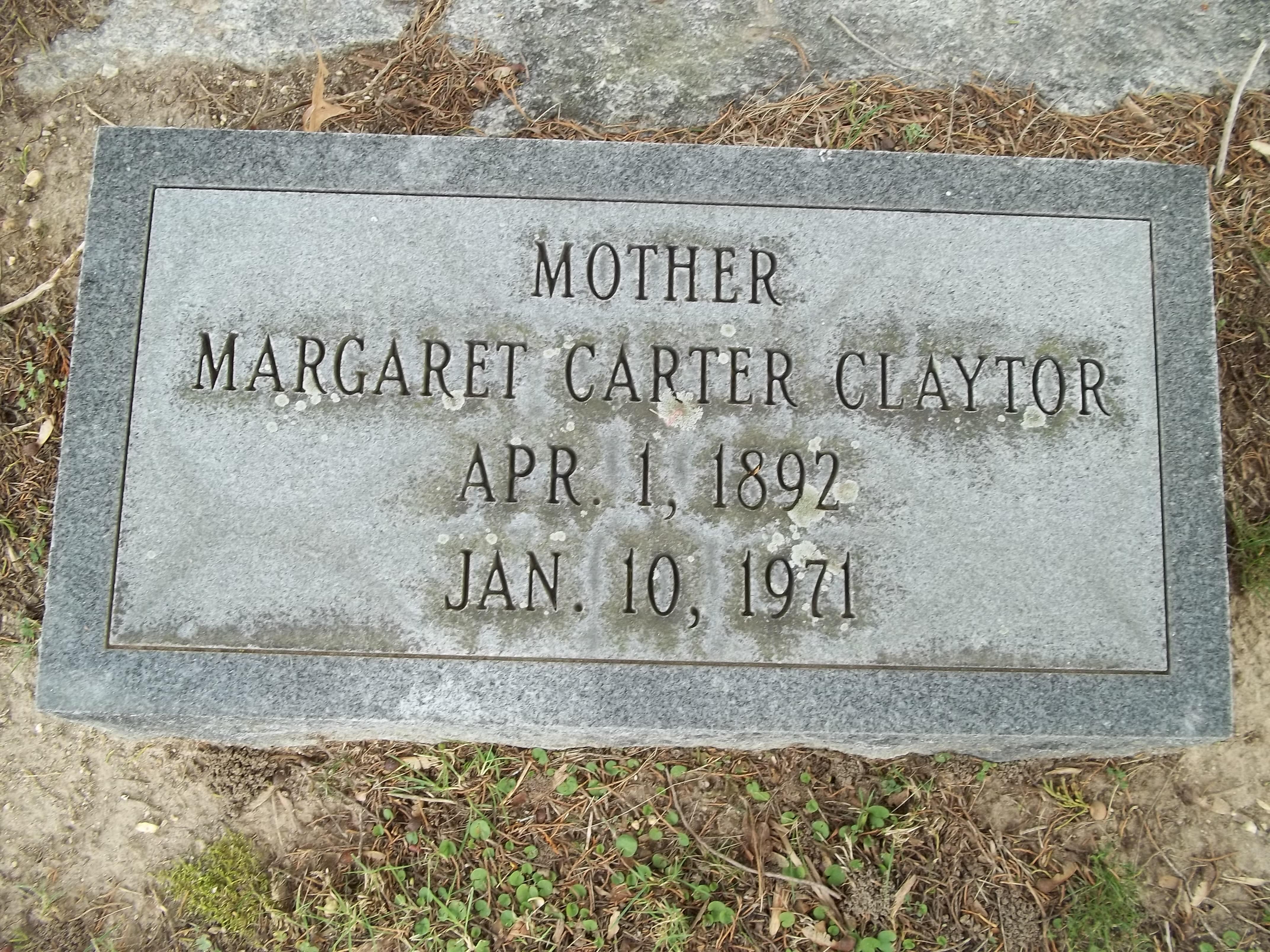 Margaret Ethel Carter