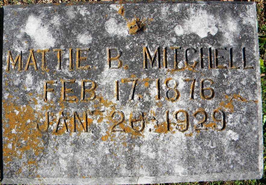 Sadie B Mitchell