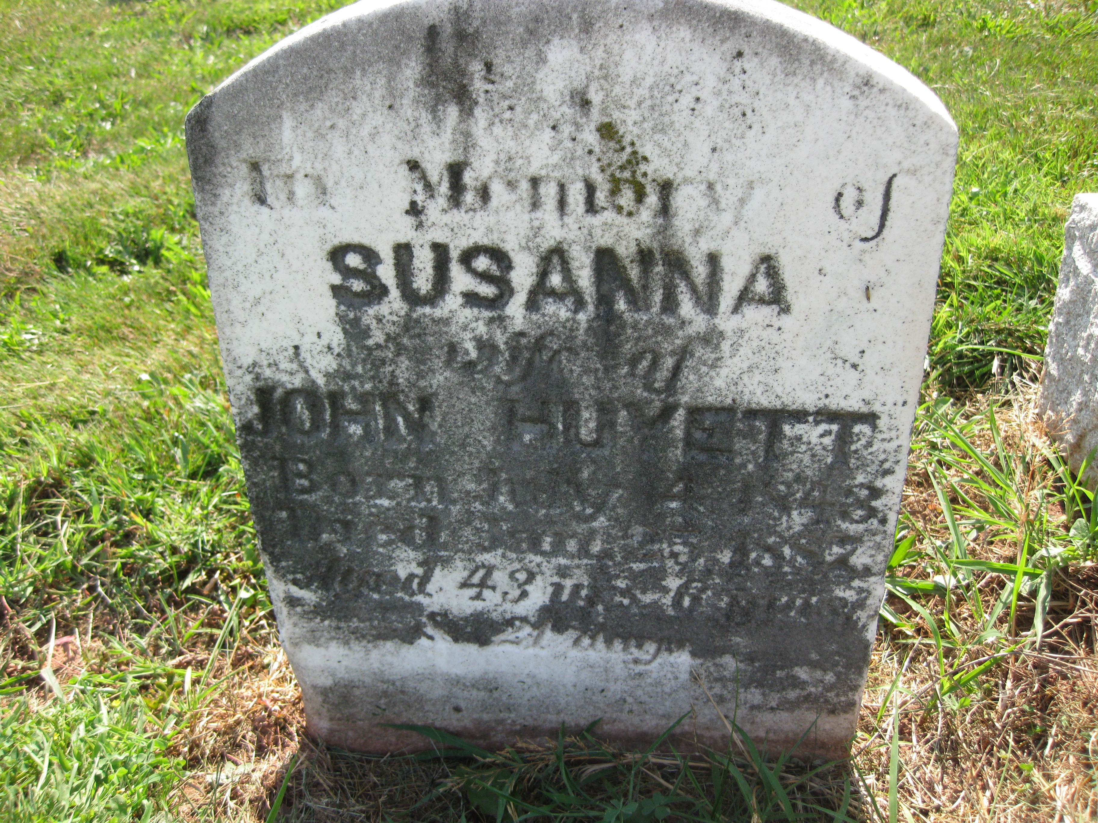 Susanna Arabella Griffith
