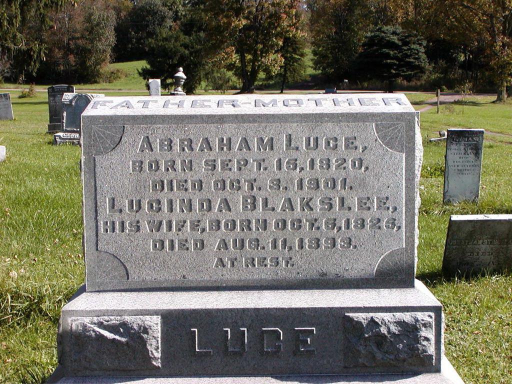 Abraham B Luce