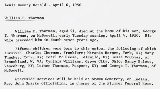 William Perry Thurman