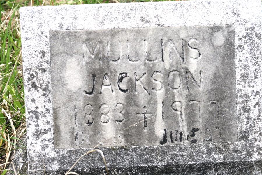 Andrew Jackson Mullins
