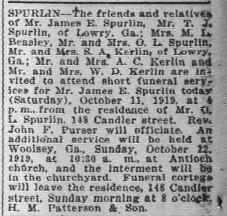 James E Spurlin
