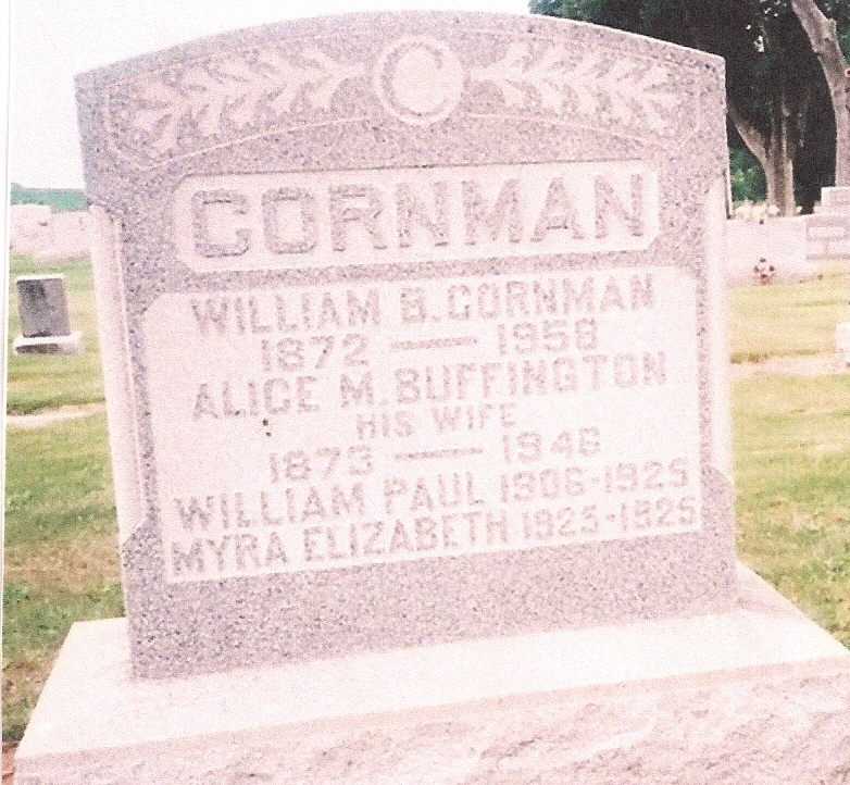 William K Cornman