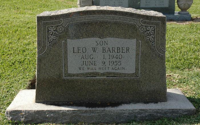 Leo Barber