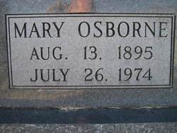 Mary Caldona Osborne