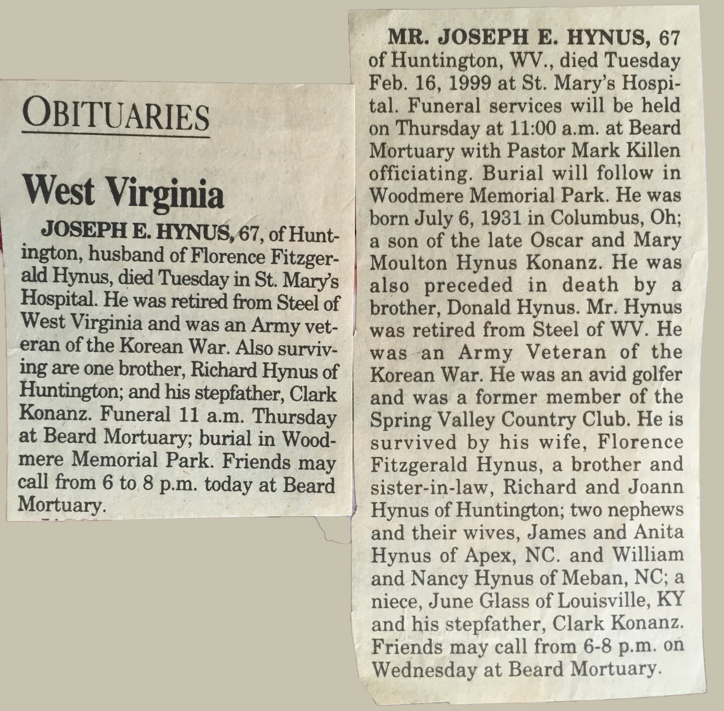 Joseph Hynus
