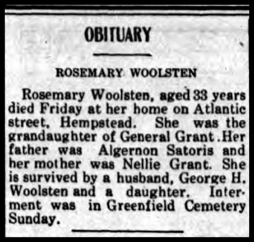Rosemary Alice Sartoris