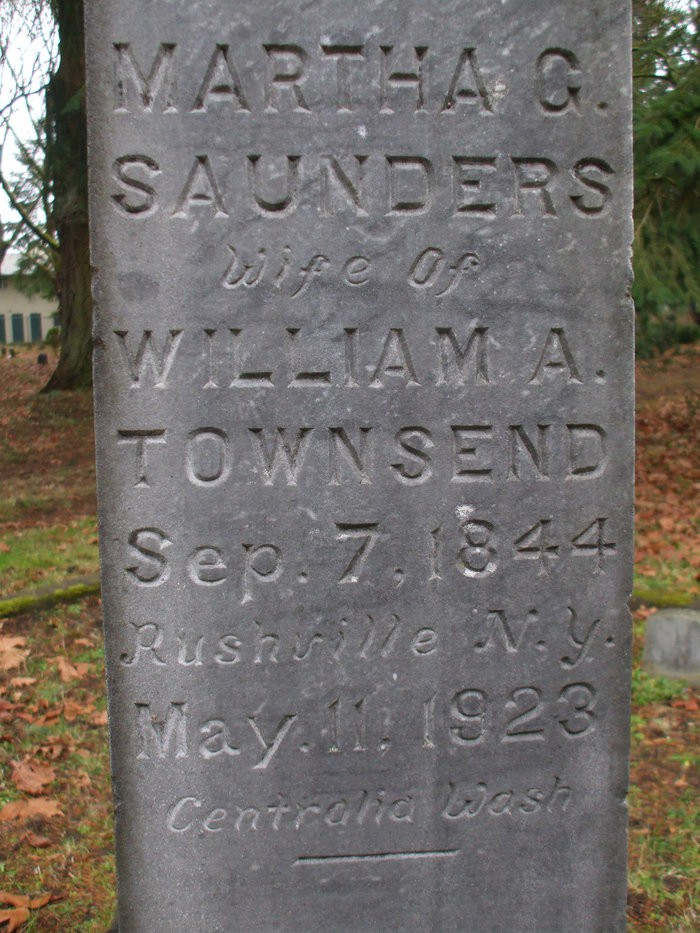 William G Saunders
