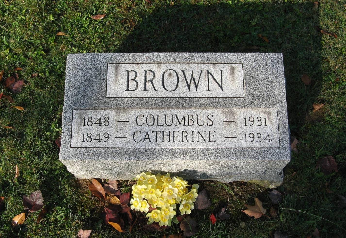 Christopher Columbus Brown