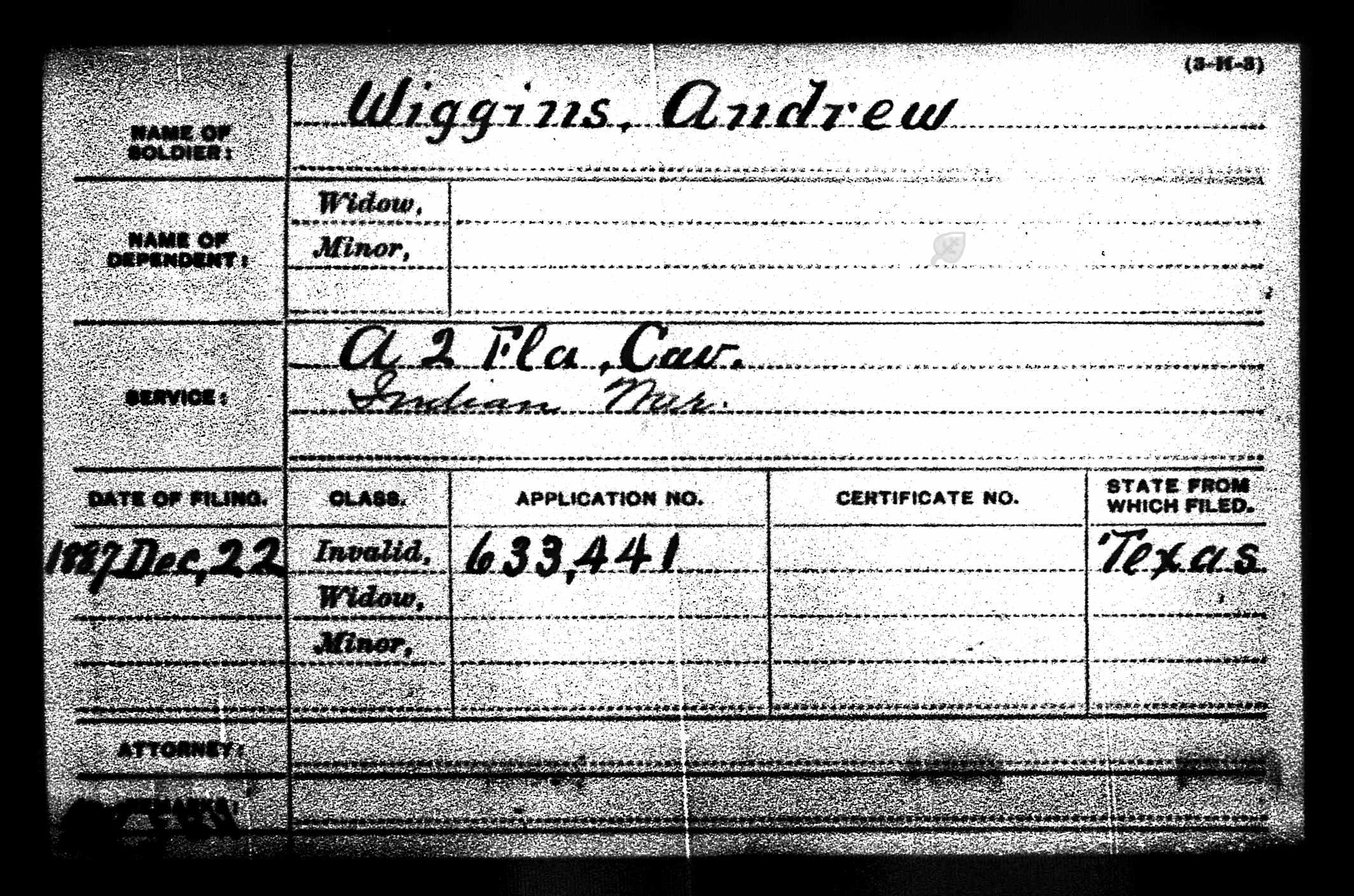 Andrew Jackson Wiggins
