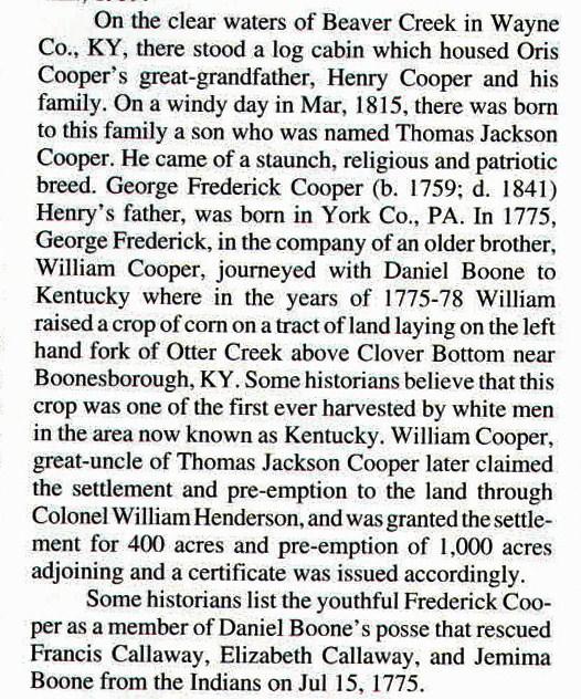 Captain Cooper