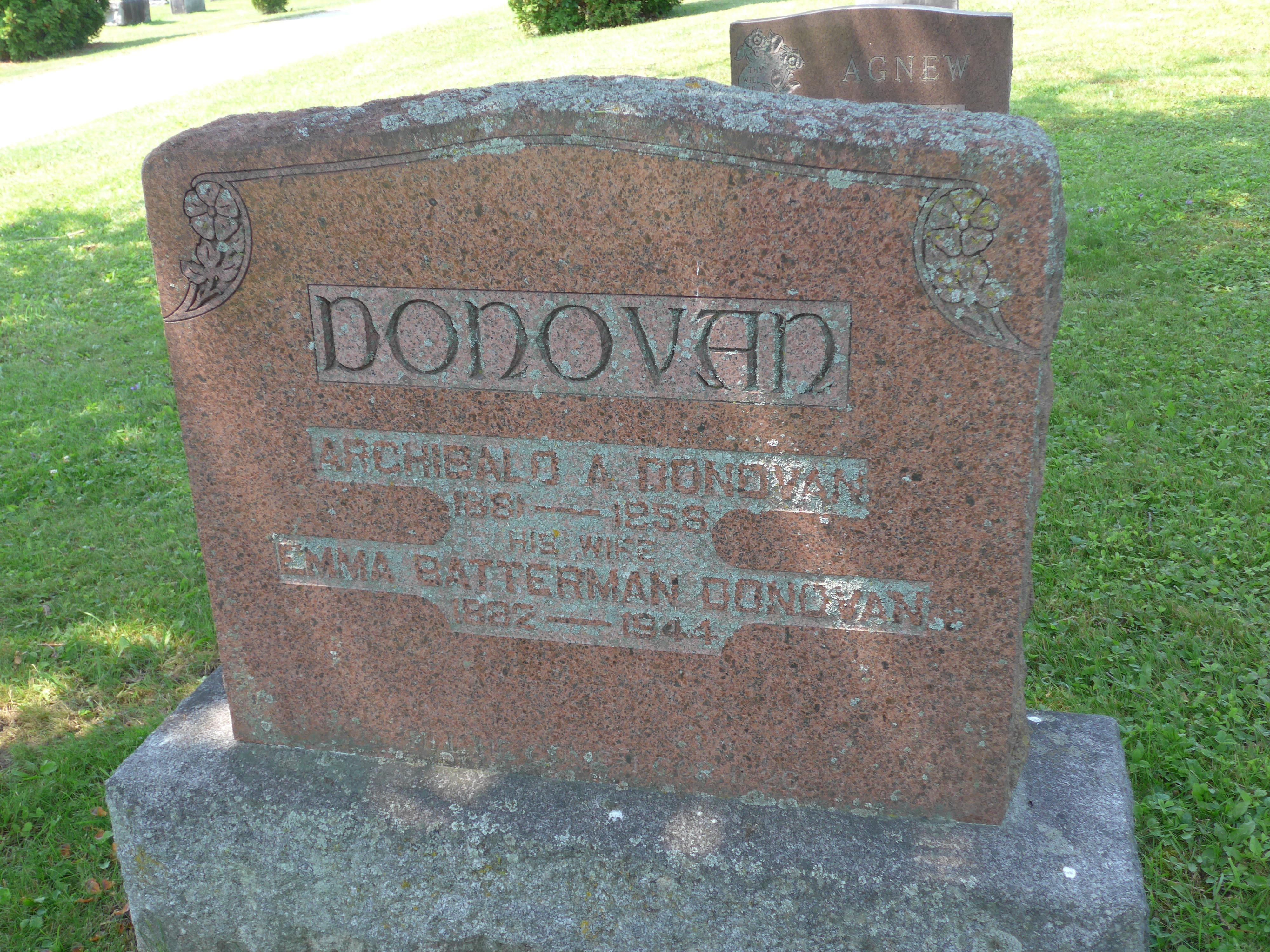 Archie Donovan