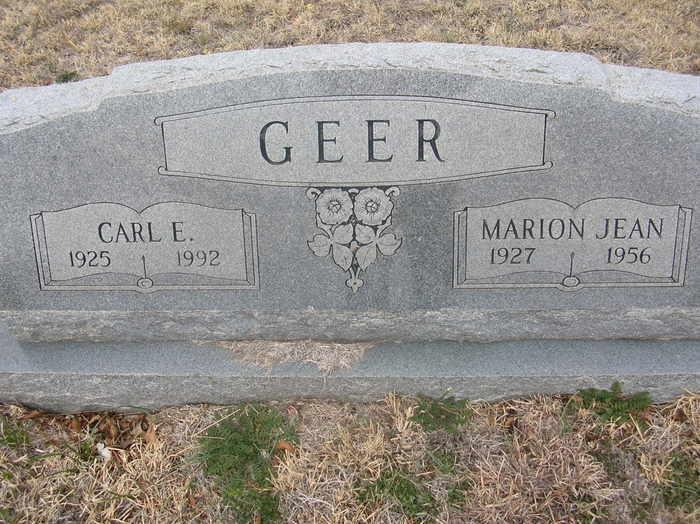Carl Edward Geer